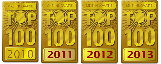 SME Innovation top 100 2010, 2011, 2012 and 2013